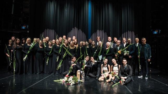 "Balleti ""Keres"" esietendus Estonia teatris."