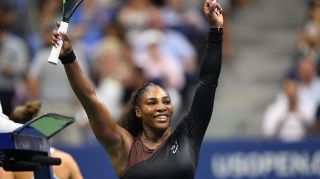 Rõõmus Serena Williams.