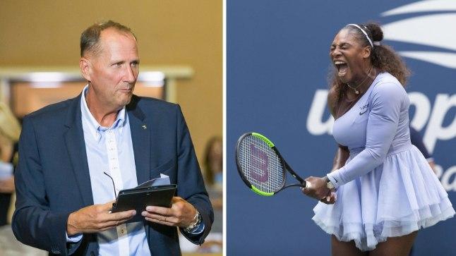 FOTOMONTAAŽ: Valdo Randpere (vasakul); nii elas Serena Williams end välja mängus Kaia Kanepiga (paremal).