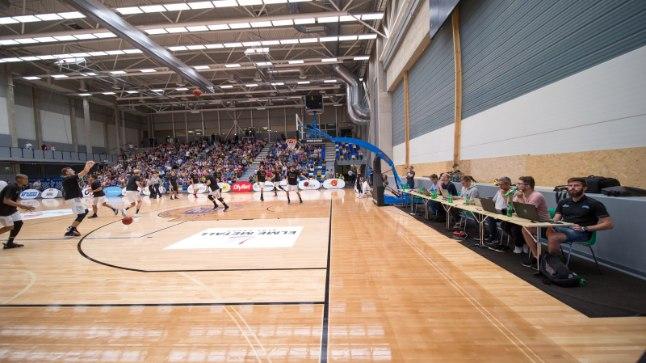 Eesti - Belgia korvpall Tartu ülikooli spordihoone uues pallisaalis.