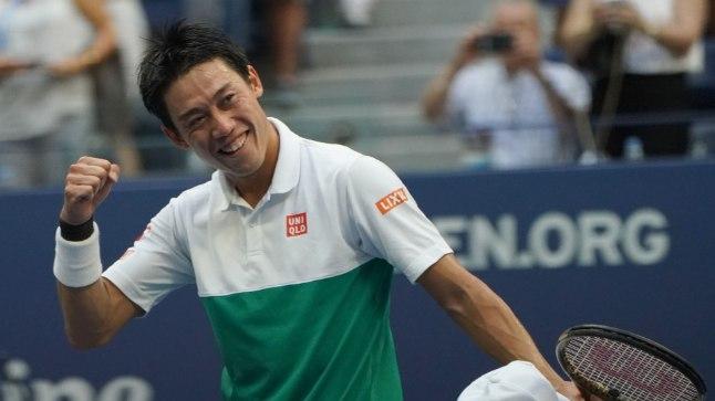 Kei Nishikori jõudis viie aasta jooksul kolmandat korda USA lahtistel poolfinaali.