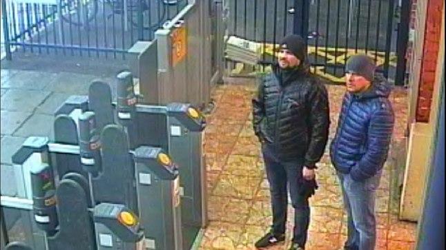 Sergei Skripali edutult tappa üritanud mehed Salisbury metroojaamas