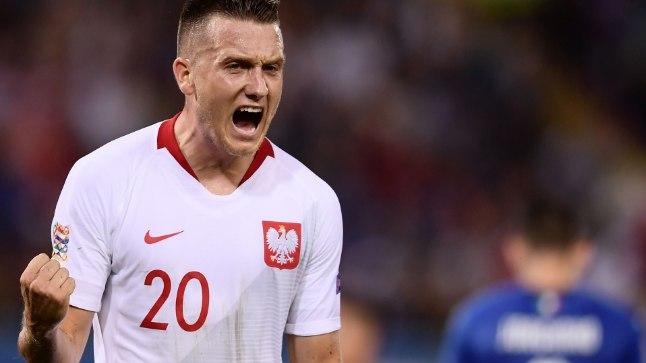 Poola koondise mängija Piotr Zielinski lõi Itaaliale värava, kuid võiduks sellest ei piisanud.
