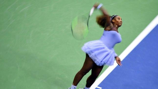 Anastasija Sevastova vastu lõi Serena Williams vaid neli ässa, aga sellest piisas kindlaks võiduks.