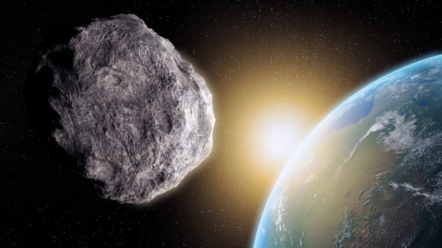HIRMUTAV VÄLJAVAADE? Mis saab, kui õhupidurdus õigesti ei toimi, küsivad need, kes on asteroidide kaevandamise suhtes skeptilised. Glasgow' ülikooli teadlased aga rõhutavad, et Maa ligidale suunataks vaid kuni 30meetrise läbimõõduga asteroidid, mis aurustuksid atmosfääris ega ohustaks meie planeedi elanikke.