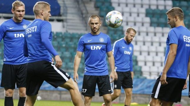 Eesti ja Kreeka valmistuvad laupäevaseks Rahvuste liiga avalöögiks.