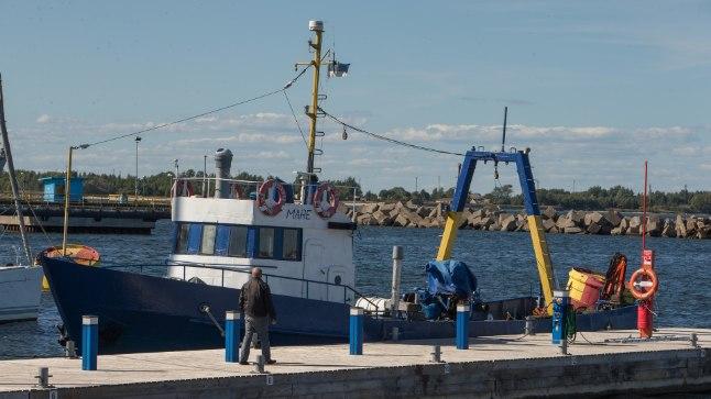 TRUU KAASLANE: Kalalaevast uurimislaevaks muudetud Marega on uuritud paljusid merepõhjas lebavaid vrakke. Sügisest tõstetakse alus aga kaldale ning sellega saab laeva tööpõli läbi.