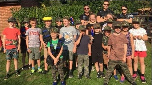 LÕPP HEA, KÕIK HEA: politseinikud lisasid laste peole vaid elevust