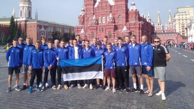 Eesti U19 saalihokikoondis.
