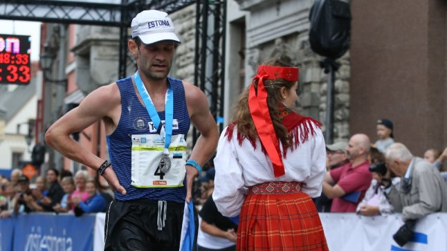 Tiidrek Nurme poolmaratoni võitjana.