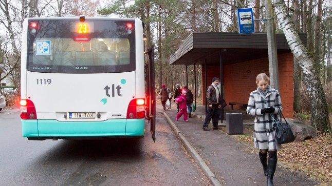 Bussipeatus Tallinnas