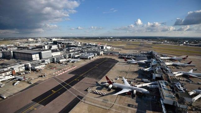 Heathrow' lennujaam peatas drooniohu tõttu ajutiselt lennud