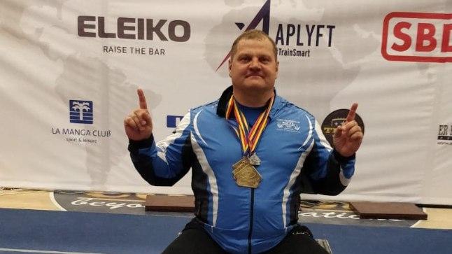 VIDEO | VÄGEV! Eesti jõujuurikas püstitas järjekordse maailmarekordi ja krooniti Euroopa meistriks