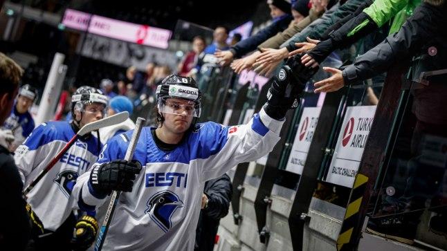 KIHVT! Rooba viimaste minutite värav tõi Eestile magusa võidu