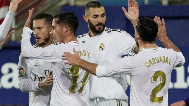 Madridi Real noppis suure võidu ja tõusis liidriks, kuid jälitajad pole kaugel