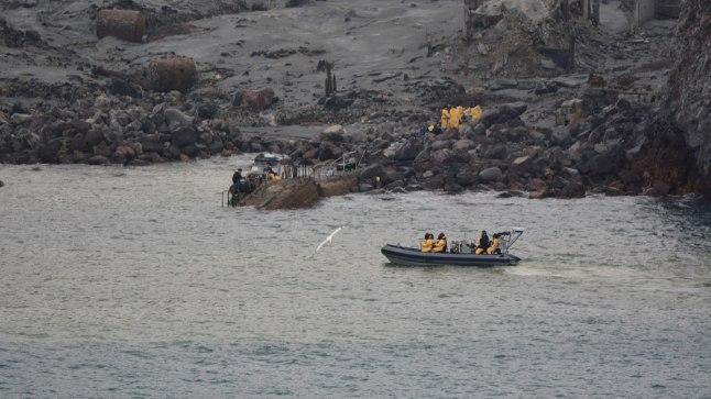 Sukeldujad leidsid Uus-Meremaa vulkaani juurest kuus surnukeha