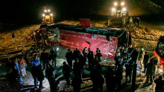 TRAGÖÖDIA: Põhja-Makedoonias hukkus bussiõnnetuses 13 inimest