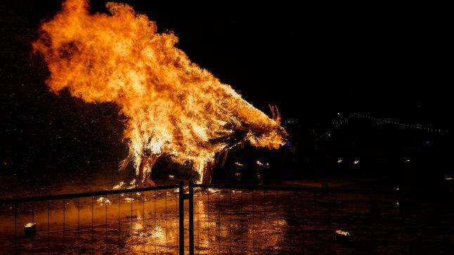 GALERII & VIDEO | Kas sea-aasta tulesõu Kalarannas oli ohtlik?