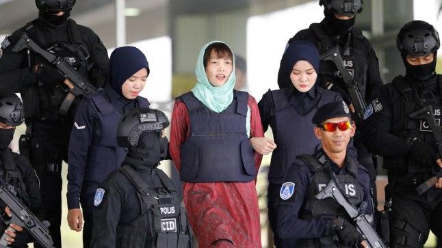 Kim Jong-uni poolvenna tapnud naine võib juba mais vabadusse pääseda