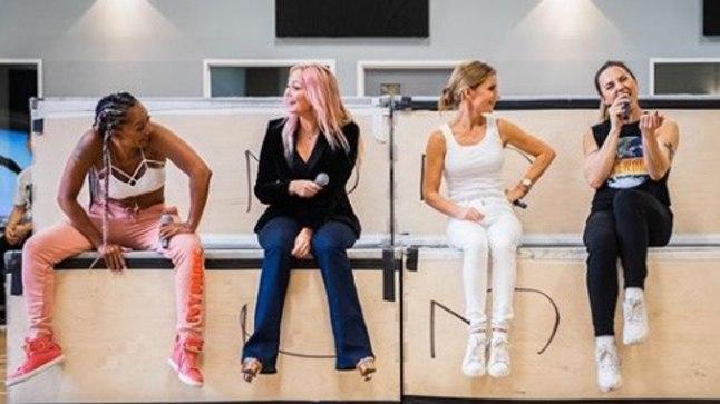 f9b8918b212 FOTO | Seksiskandaali seljatanud Spice Girls teeb usinalt proovi ...