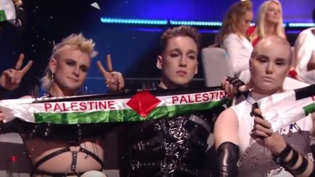 Hatari ja Madonna avaldasid Eurovisioni finaalis Palestiinale toetust. Mida on öelda EBU-l?