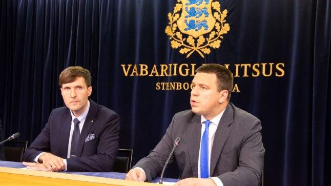 Jüri Ratas: Martin Helme tegi protseduurilise vea
