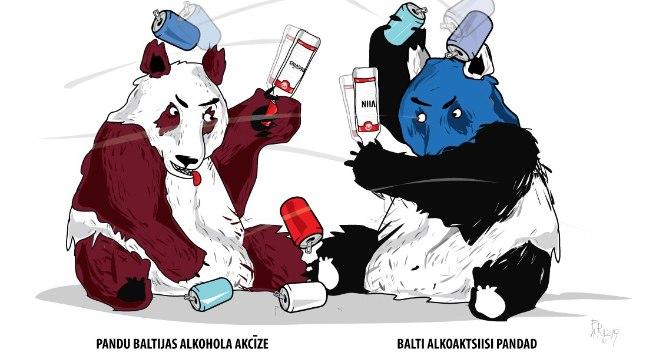 Eesti valitsuse ja riigikogu otsus langetada juulist alkoholi aktsiisimäära 25 protsenti ärgitas tegutsema ka lätlased