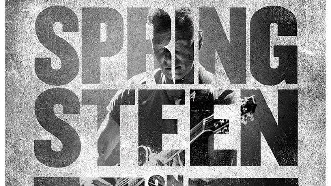 "Bruce Springsteeni ""Springsteen on Broadway"""