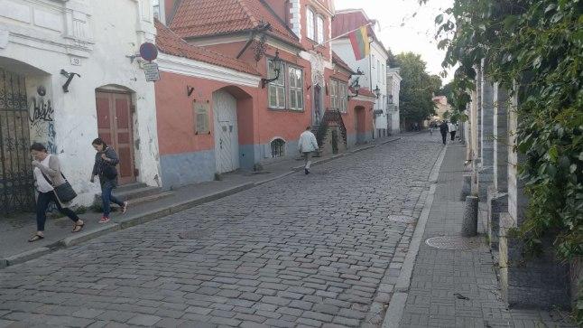 FOTOD SÜNDMUSKOHALT | Pealtnägijate sõnul pussitati 26aastast meest Leedu saatkonna ees kubemesse
