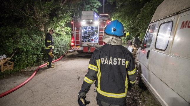 Kalamaja elanikud ärevil: tulekahjude taga on sarisüütaja?