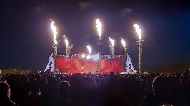 Vau, mis mass! Korraldaja jagas Metallica Tartu kontserdist vägevaid pilte