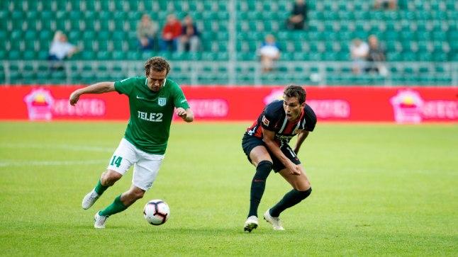 Konstantin Vassiljevil polnud probleemi üle mängida ka Bundesliga staarid Frankfurdi Eintrachtist.