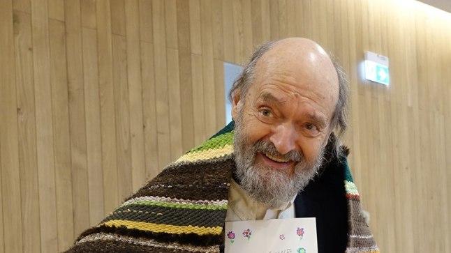 FOTO | Lasteaialapsed tegid helilooja Arvo Pärdile eriti armsa sünnipäevaüllatuse