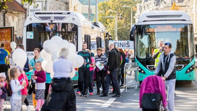 2017. aasta autovabal päeval suleti Tallinnas lõik Pärnu maanteest