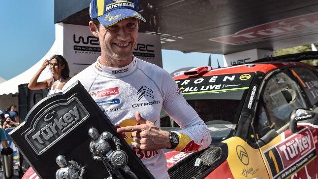 Sebastien Ogier talle alistunud sõitjast: võib-olla võitleme järgmine aasta tiitli nimel