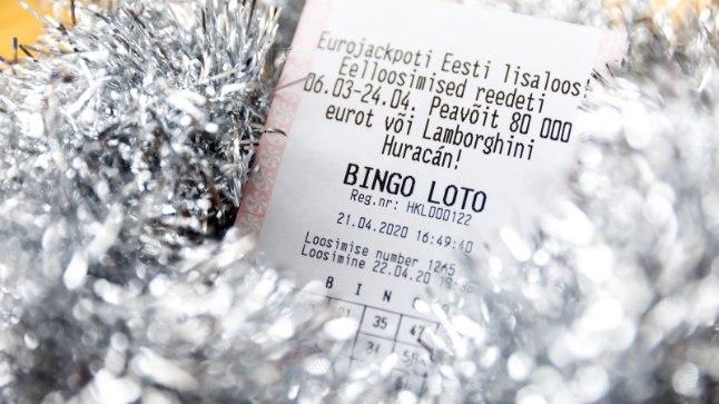 Õnnelik mängija võitis Bingo lotoga 740 000 eurot
