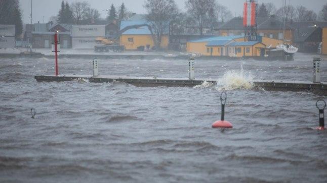 Torm ja üleujutus on päästeametile palju tööd andnud