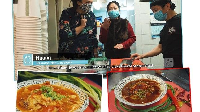VIDEOÕPETUS   Restorani Han's peakokk õpetab tegema Hiina omletti tomatiga ja veiseliha Sichuani moodi   Toidutare