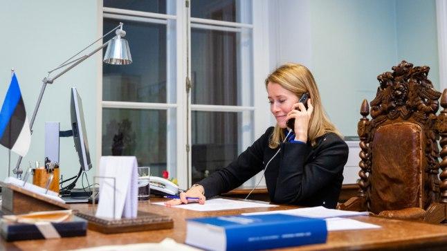 Kaja Kallas peaministritoolist: pole midagi teha, tuleb ära kannatada | Õhtuleht