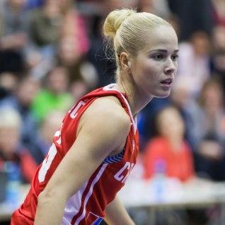 <font color=&quot;#d30008&quot;>VERERINGET PARANDAVAD FOTOD |</font> Londoni olümpia miss mängis Tallinnas korvpalli!