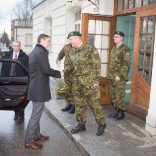 Taavi Rõivas: tugev kaitsevägi on Eesti riigikaitse nurgakivi