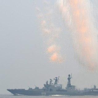 Vene sõjalaevad lõhuvad Rootsi ja Leedu vahelist elektrikaablit