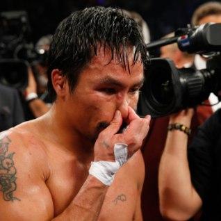 KAOTUSE PÕHJUS SELGE? Manny Pacquiao võitles vigastatuna!