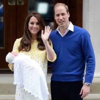 Kate ja William avalikustasid printsessi nime