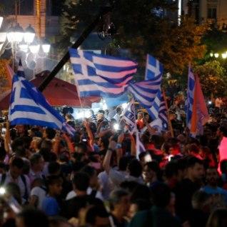 """Kreeklased ütlesid referendumil """"ei"""""""