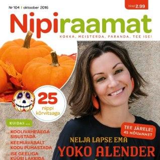 Leia oktoobri Nipiraamat poest!