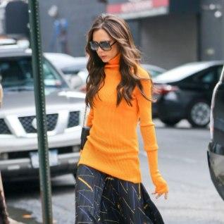 PILTUUDIS   Victoria Beckham annab oma rõivastusega vihjeid, mis kevadel moes võiks olla