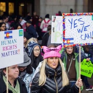 <font color=&quot;#d30008&quot;>GALERII JA VIDEO |&nbsp;</font>Washingtonis marssisid naised oma õiguste, tervise ja per