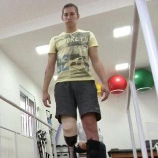 FOTOD   Chapecoense lennutragöödias jala kaotanud väravavaht tahab jalgpalli edasi mängida