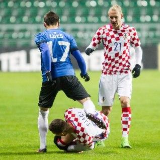 <font color=&quot;#d30008&quot;>KAHJU!</font> Eesti koondise vastu vigastada saanud Horvaatia vutitäht peab pidama väga